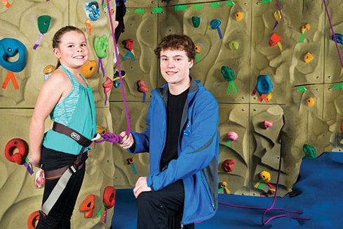 westside climbing wall
