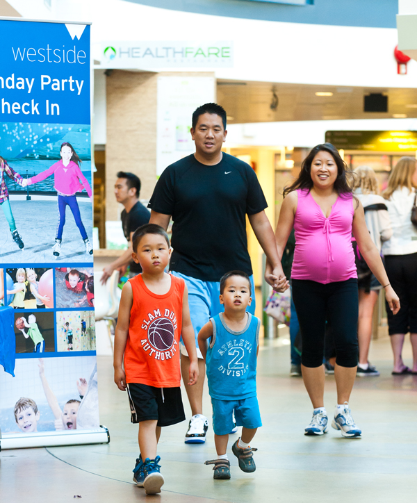 family at westside recreation centre